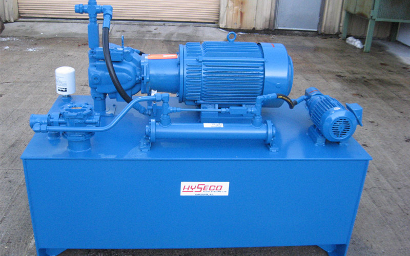 Hyseco fluid systems custom products for 10 hp hydraulic motor